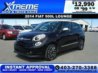 2014 FIAT 500L LOUNGE $99 bi-weekly APPLY NOW DRIVE NOW Calgary Alberta Preview