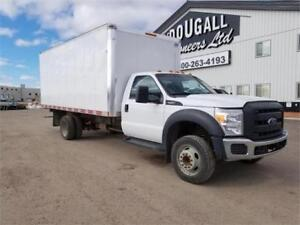 2013 Ford F550 Cube Van UNRESERVED