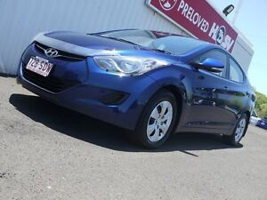 2012 Hyundai Elantra MD Active Blue 6 Speed Sports Automatic Sedan Svensson Heights Bundaberg City Preview