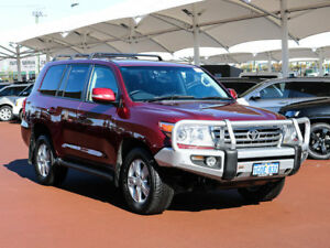 2015 Toyota Landcruiser VDJ200R MY13 VX (4x4) Red 6 Speed Automatic Wagon