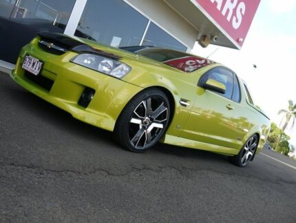 2008 Holden Ute VE SS Green 6 Speed Sports Automatic Utility