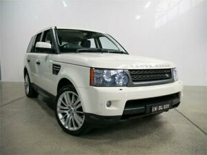 2010 Land Rover Range Rover MY10 Sport 3.0 TDV6 Alaska White 6 Speed Automatic Wagon Petersham Marrickville Area Preview