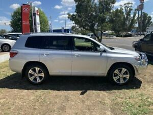2008 Toyota Kluger KXS AWD Silver Pearl Steptronic Wagon