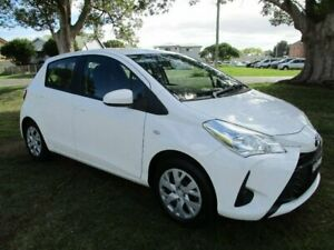 2018 Toyota Yaris NCP130R Ascent White 4 Speed Automatic Hatchback Kempsey Kempsey Area Preview