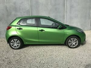 2008 Mazda 2 DE Neo Green 4 Speed Automatic Hatchback Seaford Frankston Area Preview