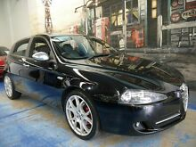 2008 Alfa Romeo 147 MY2005 JTD M-JET Black 6 Speed Manual Hatchback Marrickville Marrickville Area Preview