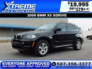 2009 BMW X5 xDrive30i $179 bi-weekly APPLY NOW DRIVE NOW