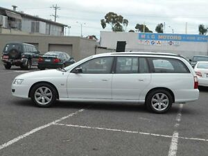 2005 Holden Commodore VZ Executive White 4 Speed Automatic Wagon Maidstone Maribyrnong Area Preview