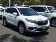 2016 Honda CR-V 30 Series 2 MY17 VTi (4x2) White 5 Speed Automatic Wagon South Nowra Nowra-Bomaderry Preview