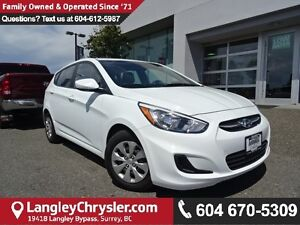 2016 Hyundai Accent SE *Accident Free * One Owner * Local *
