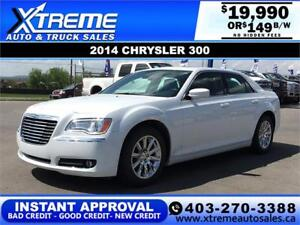2014 CHRYSLER 300 TOURING $0 DOWN $149 B/W APPLY NOW