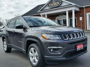 2019 Jeep Compass North 4x4, NAV, Heated Seats/Wheel, Bluetooth,