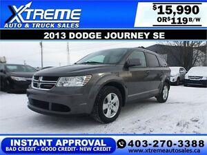 2013 Dodge Journey SE $119 bi-weekly APPLY NOW DRIVE NOW