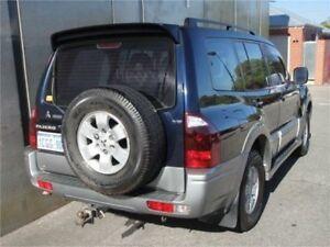 2003 Mitsubishi Pajero NP Exceed Blue Sports Automatic Wagon