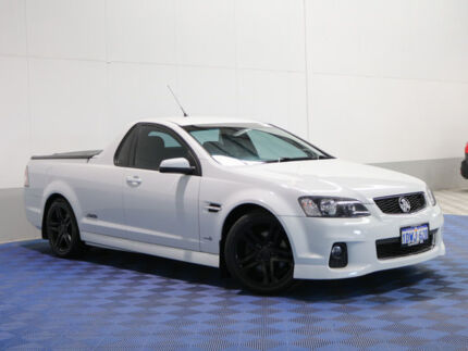 2012 Holden Commodore VE II MY12 SS White 6 Speed Automatic Utility