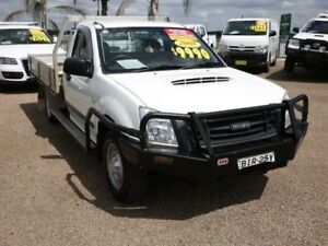 2008 Isuzu D-MAX MY09 SX White 5 Speed Manual Cab Chassis Mount Druitt Blacktown Area Preview