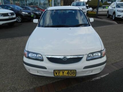 1998 Mazda 626 Limited White 4 Speed Automatic Sedan Port Macquarie 2444 Port Macquarie City Preview