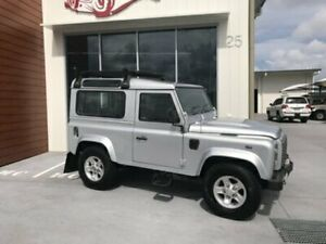 2012 Land Rover Defender 90 12MY Silver Manual Wagon