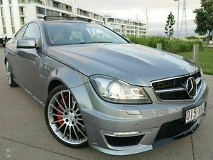 2012 Mercedes-Benz C63 C204 MY12 AMG SPEEDSHIFT MCT Performance Package Palladium Silver 7 Speed Albion Brisbane North East Preview