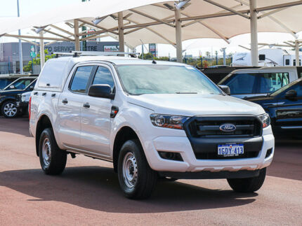 2016 Ford Ranger PX MkII XL 2.2 HI-Rider (4x2) White 6 Speed Automatic Crew Cab Pickup Jandakot Cockburn Area Preview
