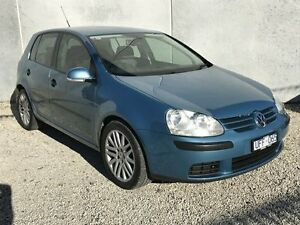 2006 Volkswagen Golf 1K 2.0 TDI Comfortline Blue 6 Speed Direct Shift Hatchback Frankston North Frankston Area Preview
