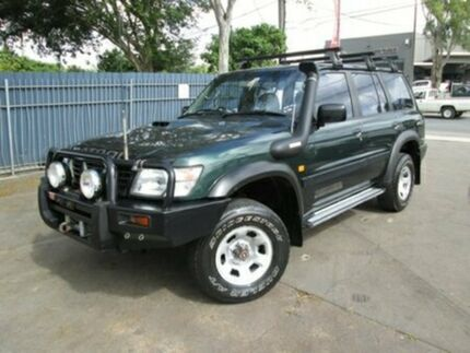 1999 Nissan Patrol GU ST Green 5 Speed Manual Wagon Coopers Plains Brisbane South West Preview