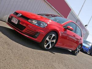 2013 Volkswagen Golf VII MY14 GTI DSG Red 6 Speed Sports Automatic Dual Clutch Hatchback Svensson Heights Bundaberg City Preview