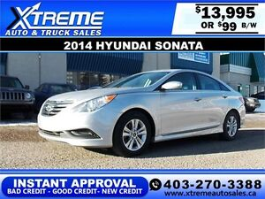 2014 Hyundai Sonata GLS $99 bi-weekly APPLY NOW DRIVE NOW