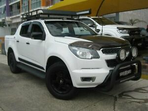 2015 Holden Colorado RG MY16 Z71 (4x4) White 6 Speed Automatic Crew Cab Pickup Homebush Strathfield Area Preview