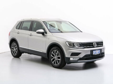 2016 Volkswagen Tiguan 5NA 132 TSI Comfortline Silver 7 Speed Auto Direct Shift Wagon Jandakot Cockburn Area Preview