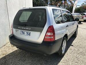 2004 Subaru Forester MY05 X Silver 4 Speed Automatic Wagon Seaford Frankston Area Preview