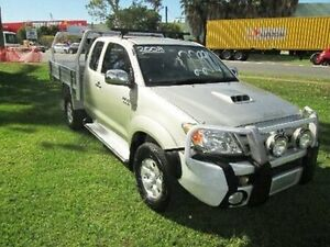 2008 Toyota Hilux KUN26R MY08 SR5 Xtra Cab Silver 5 Speed Manual Utility Coopers Plains Brisbane South West Preview