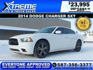 2014 Dodge Charger SXT AWD $169 BI-WEEKLY APPLY NOW DRIVE NOW