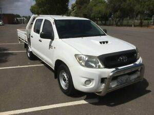 2010 Toyota Hilux KUN16R MY11 Upgrade SR 5 Speed Manual Dual Cab Pick-up Clarence Gardens Mitcham Area Preview