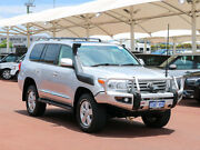 2013 Toyota Landcruiser VDJ200R MY13 Sahara (4x4) Silver 6 Speed Automatic Wagon Jandakot Cockburn Area Preview