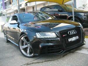 2010 Audi RS 5 8T 4.2 FSI Quattro Black 7 Speed Auto Direct Shift Coupe Homebush Strathfield Area Preview