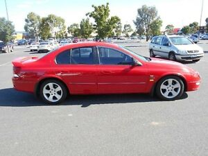 2001 Ford Falcon Auii XR8 Red 4 Speed Automatic Sedan Maidstone Maribyrnong Area Preview
