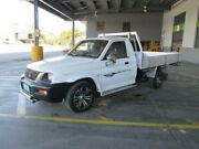 2002 Mitsubishi Triton MK MY02 GL White 5 Speed Manual Cab Chassis Coopers Plains Brisbane South West Preview