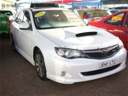 2013 Subaru Impreza G3 My14 Wrx Awd White 5 Speed Manual Hatchback