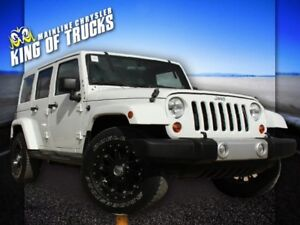 2012 Jeep Wrangler Unlimited | Remote Start | Keyless Entry | Sp