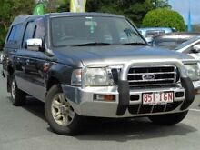 2004 Ford Courier PG GL Crew Cab Silver 5 Speed Manual Cab Chassis Bundall Gold Coast City Preview
