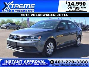 2014 VOLKSWAGEN JETTA TDI $99 B/W *$0 DOWN* APPLY NOW