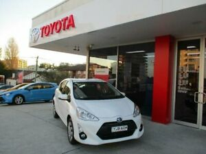 2015 Toyota Prius c NHP10R MY15 Hybrid Glacier White Continuous Variable Hatchback Hurstville Hurstville Area Preview