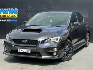 2015 Subaru WRX V1 MY15 Premium Lineartronic AWD Grey 8 Speed Constant Variable Sedan