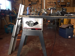 Awesome 10' Table Saw with extension and accessories