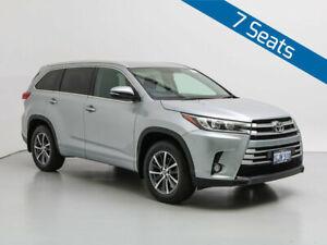 2017 Toyota Kluger GSU50R GXL (4x2) Silver 6 Speed Automatic Wagon