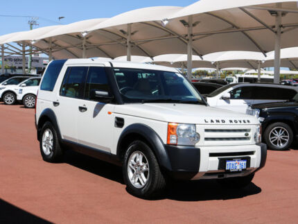 2006 Land Rover Discovery 3 S White 6 Speed Automatic Wagon Jandakot Cockburn Area Preview