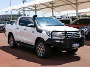 2015 Toyota Hilux GUN126R SR5 (4x4) White 6 Speed Automatic Dual Cab Utility Jandakot Cockburn Area Preview