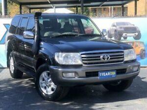 2005 Toyota Landcruiser UZJ100R Sahara Black Automatic Wagon Campbelltown Campbelltown Area Preview