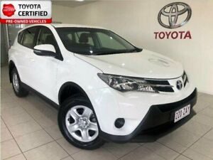 2015 Toyota RAV4 ASA44R MY14 Upgrade GX (4x4) Glacier White 6 Speed Automatic Wagon Bungalow Cairns City Preview